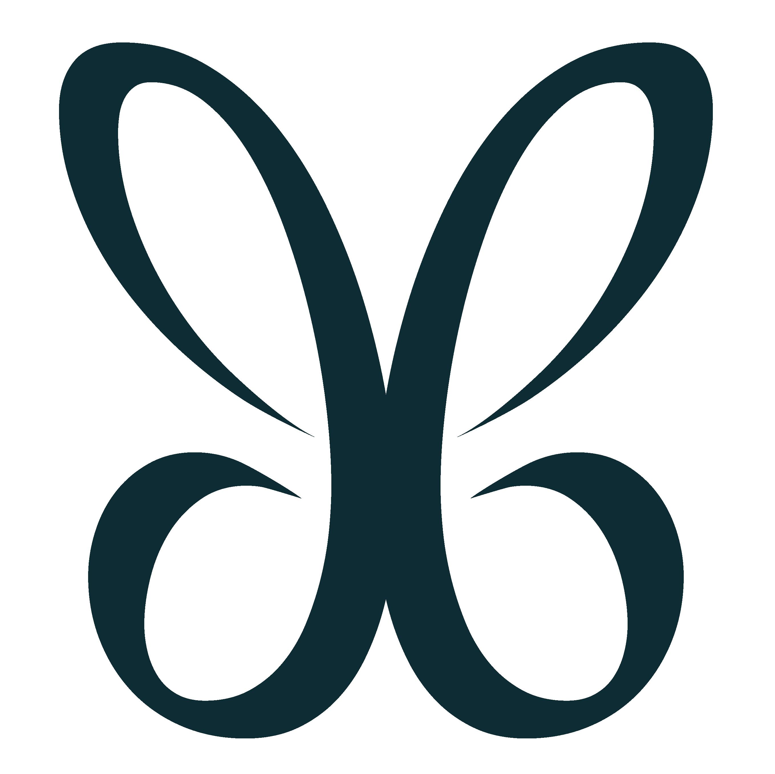 ailes bleues logo de la fée bleue