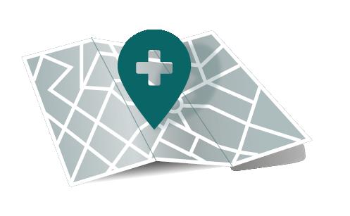 map clinique L'OV