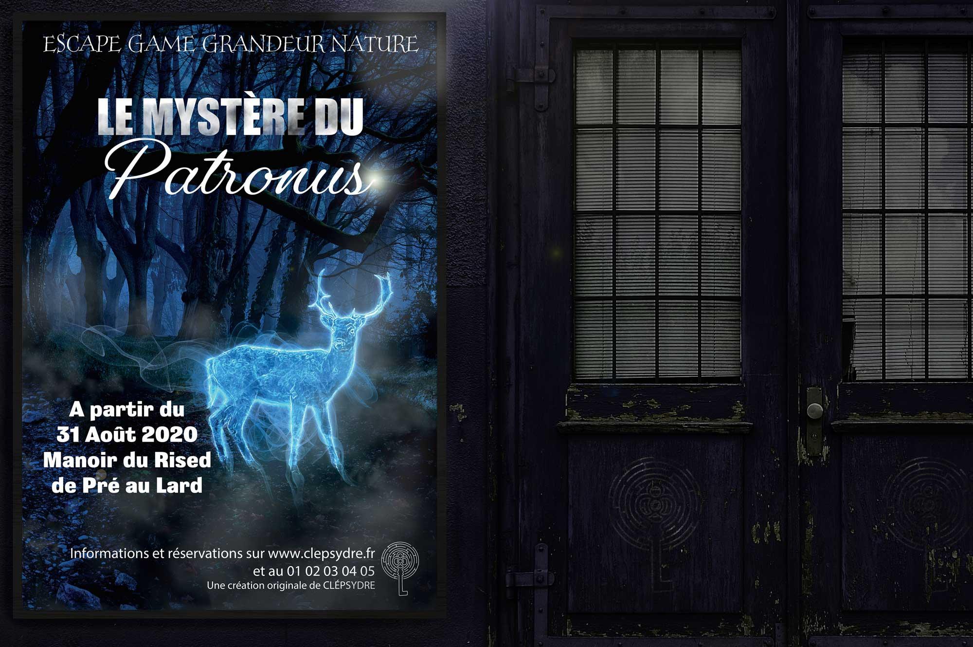 Affiche Le Mystère du Patronus La fée Bleue